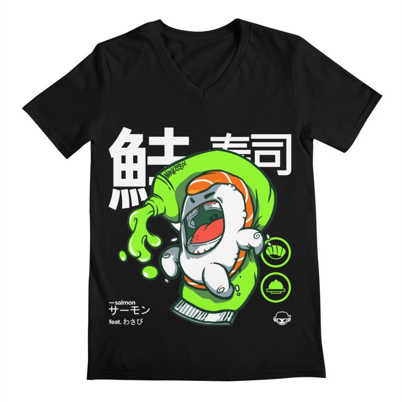 Salmon feat. Wasabi Men's  by mankeeboi's Artist Shop