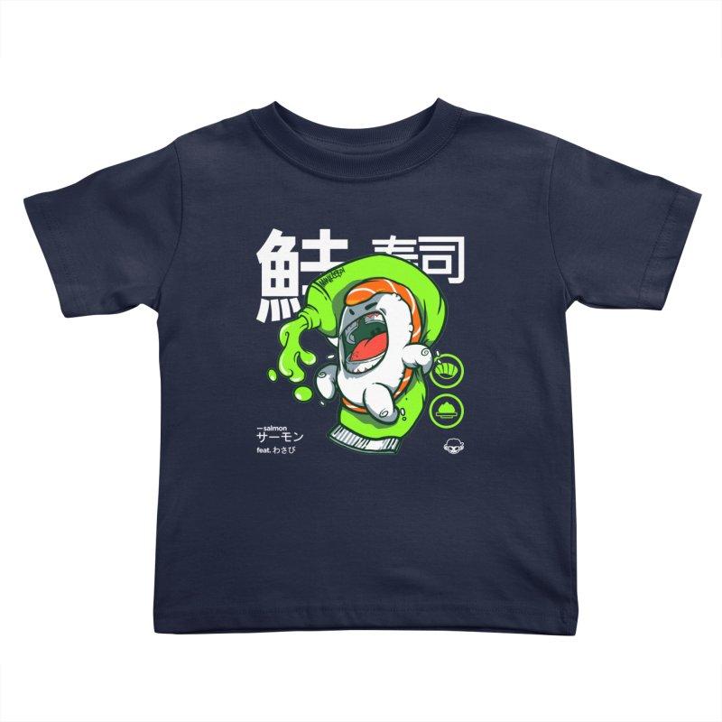 Salmon feat. Wasabi Kids Toddler T-Shirt by mankeeboi's Artist Shop
