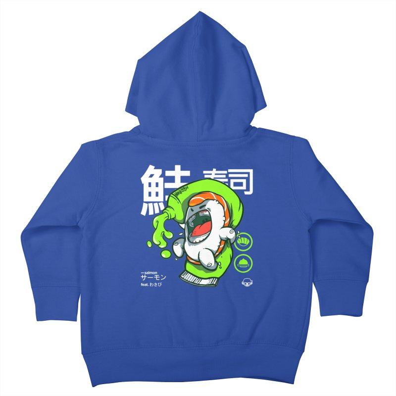 Salmon feat. Wasabi Kids Toddler Zip-Up Hoody by mankeeboi's Artist Shop