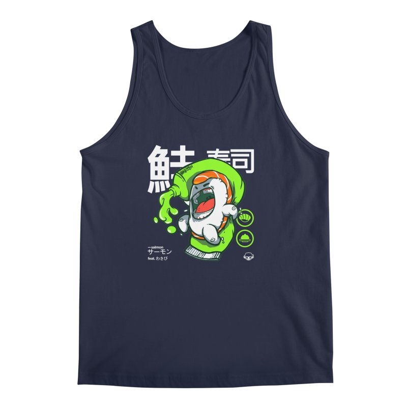 Salmon feat. Wasabi Men's Regular Tank by mankeeboi's Artist Shop