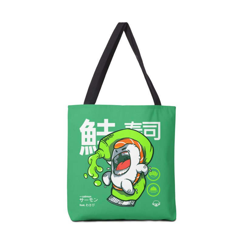 Salmon feat. Wasabi Accessories Bag by mankeeboi's Artist Shop