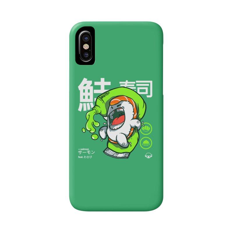 Salmon feat. Wasabi Accessories Phone Case by mankeeboi's Artist Shop