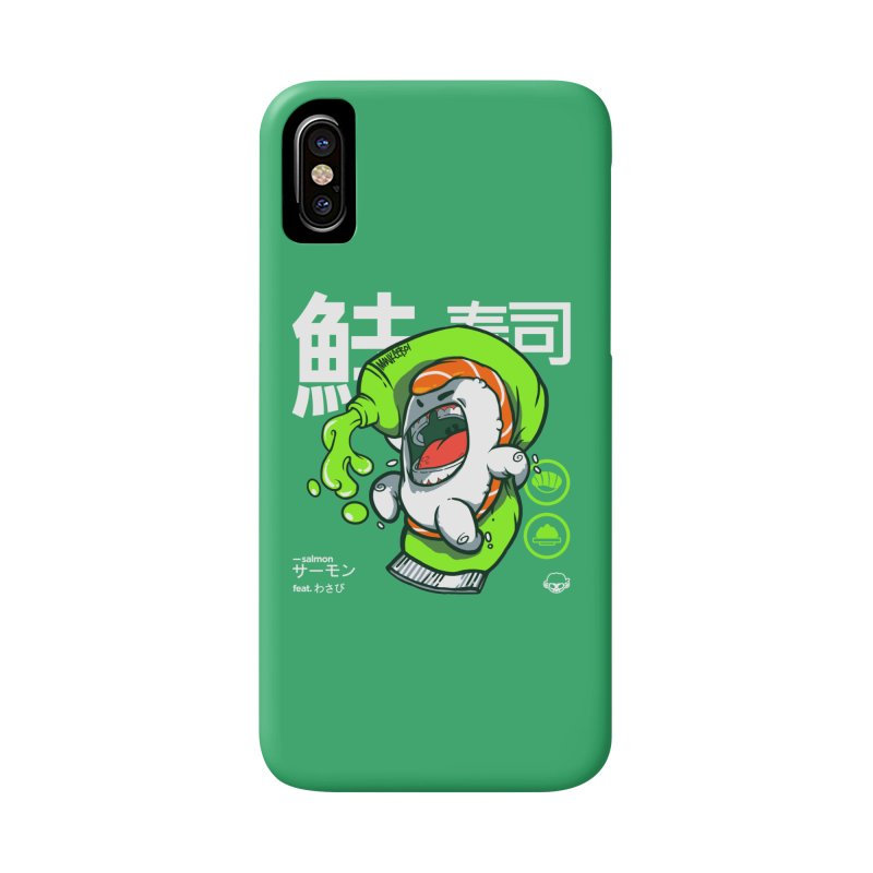Salmon feat. Wasabi Accessories Phone Case by mankeeboi's Artist Shop