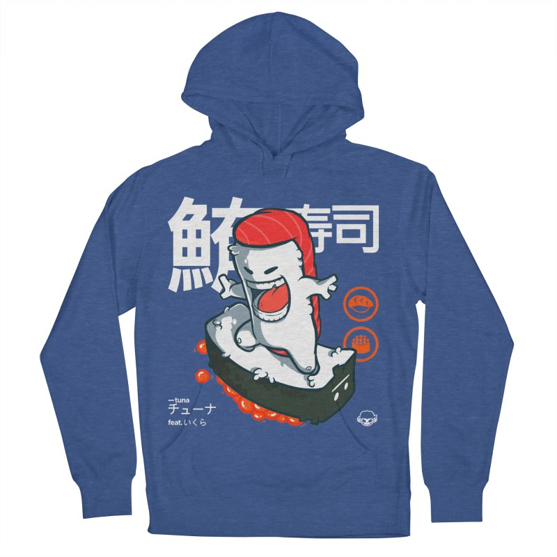 Tuna feat. Ikura Women's French Terry Pullover Hoody by mankeeboi's Artist Shop