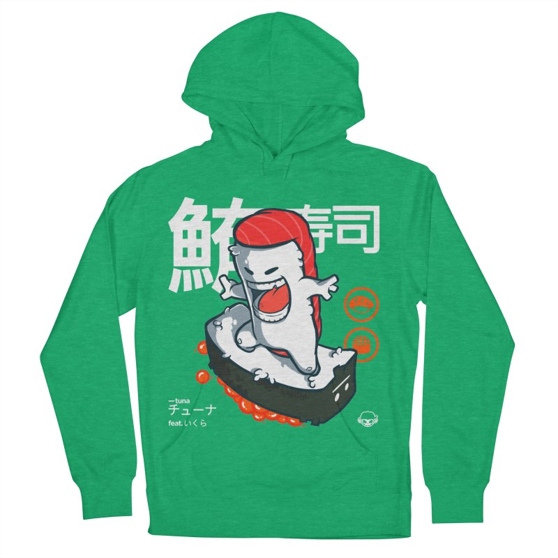 Tuna feat. Ikura Men's French Terry Pullover Hoody by mankeeboi's Artist Shop