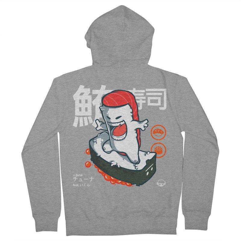 Tuna feat. Ikura Women's Zip-Up Hoody by mankeeboi's Artist Shop