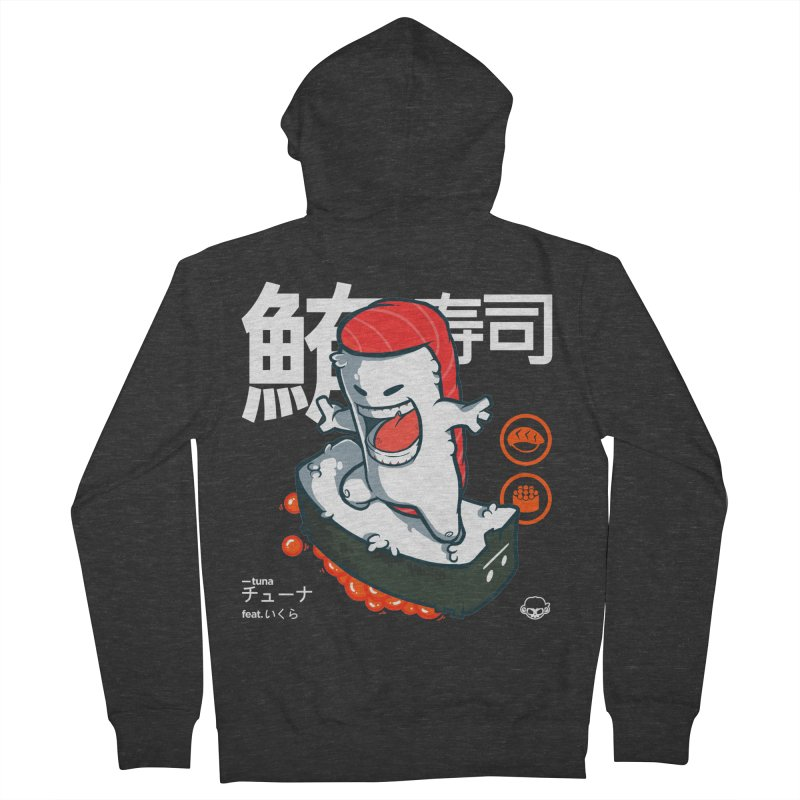 Tuna feat. Ikura Men's Zip-Up Hoody by mankeeboi's Artist Shop