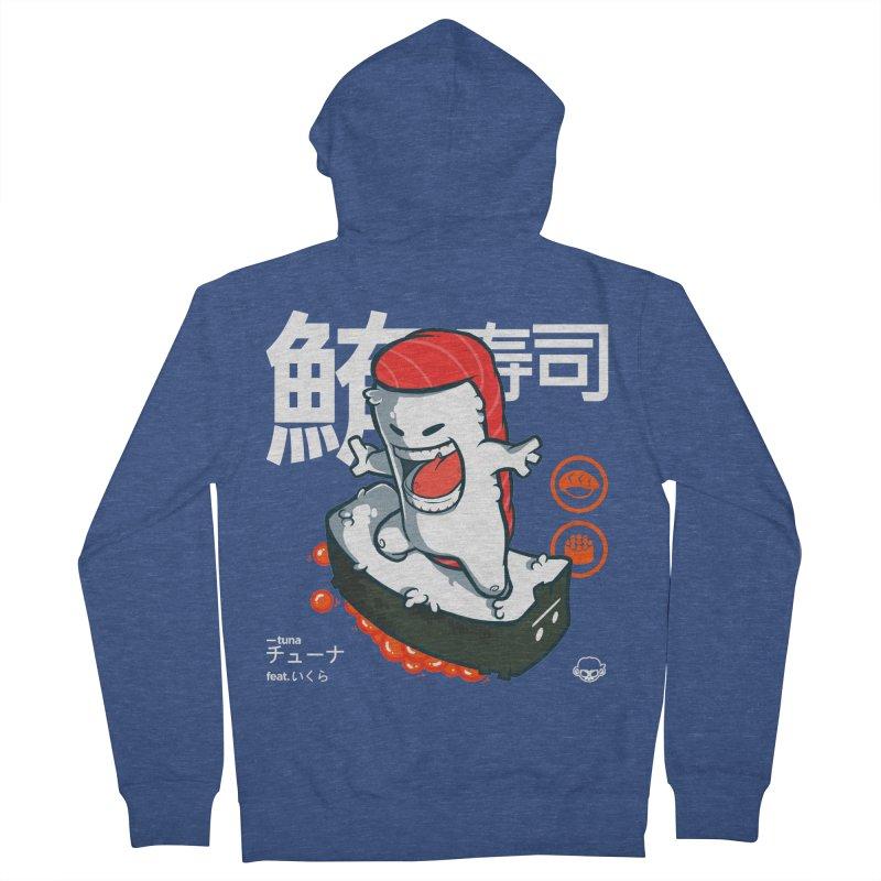 Tuna feat. Ikura Men's Zip-Up Hoody by mankeeboi's Artist Shop