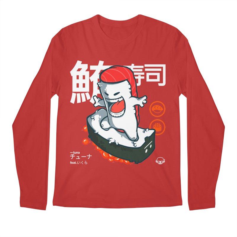 Tuna feat. Ikura Men's Regular Longsleeve T-Shirt by mankeeboi's Artist Shop