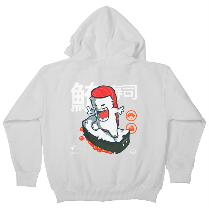 Tuna feat. Ikura Kids Zip-Up Hoody by mankeeboi's Artist Shop