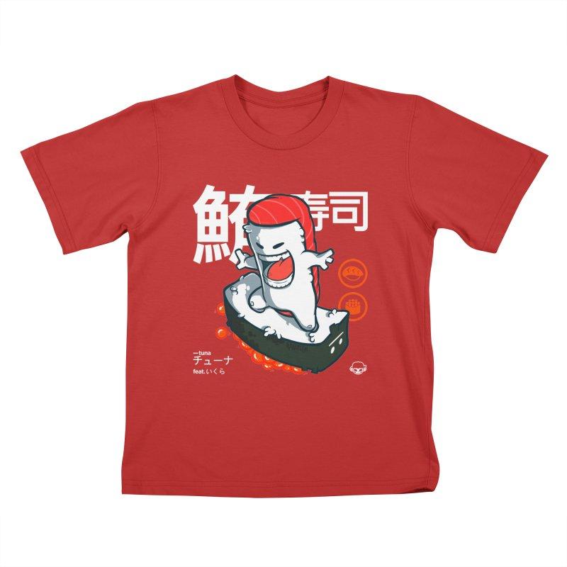 Tuna feat. Ikura Kids T-Shirt by mankeeboi's Artist Shop