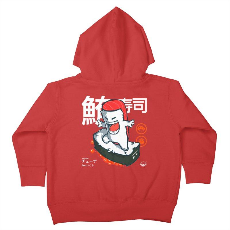 Tuna feat. Ikura Kids Toddler Zip-Up Hoody by mankeeboi's Artist Shop