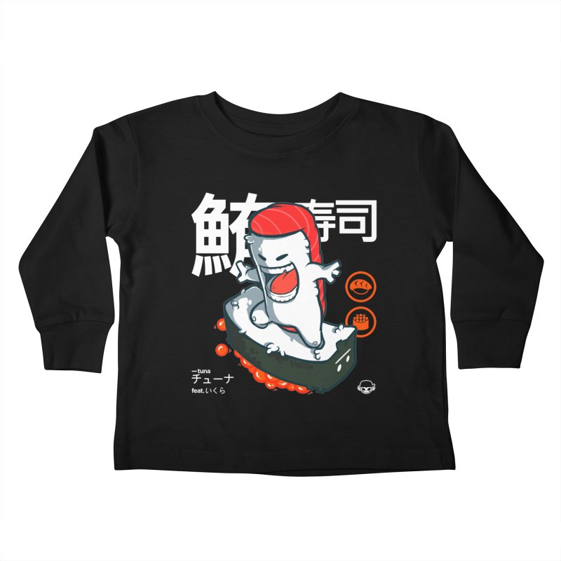 Tuna feat. Ikura Kids Toddler Longsleeve T-Shirt by mankeeboi's Artist Shop