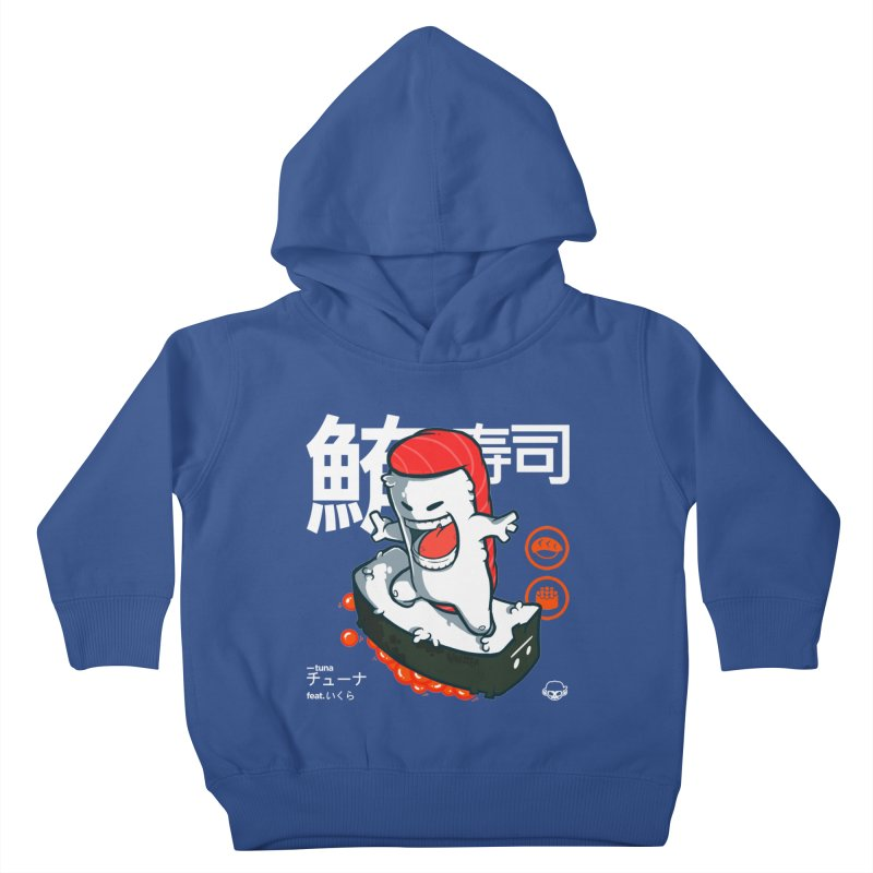 Tuna feat. Ikura Kids Toddler Pullover Hoody by mankeeboi's Artist Shop