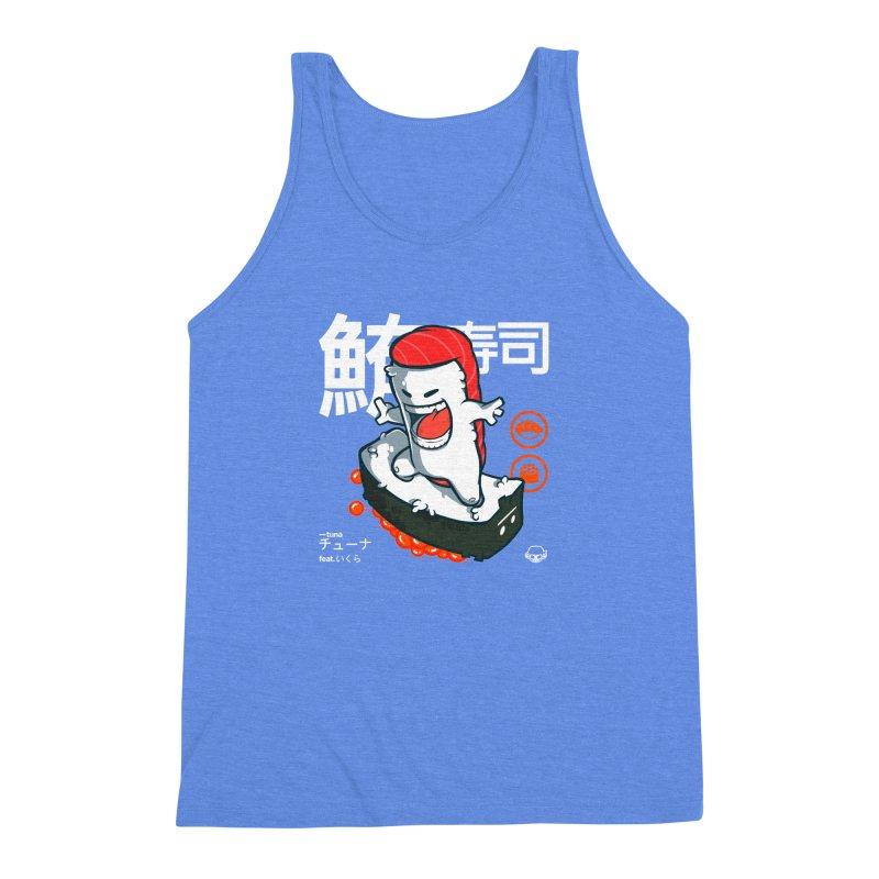 Tuna feat. Ikura Men's Triblend Tank by mankeeboi's Artist Shop