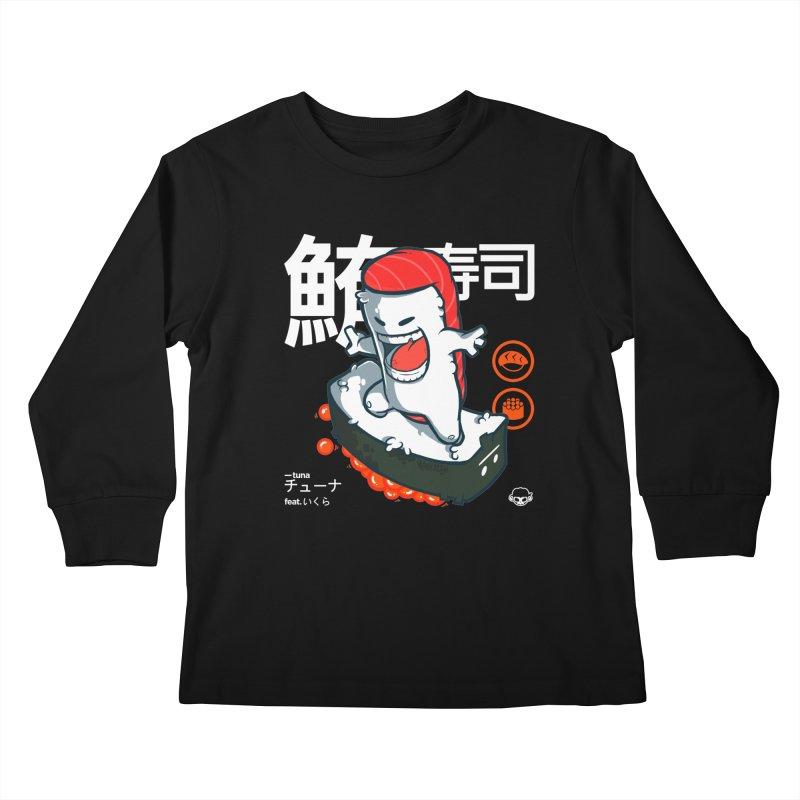 Tuna feat. Ikura Kids Longsleeve T-Shirt by mankeeboi's Artist Shop