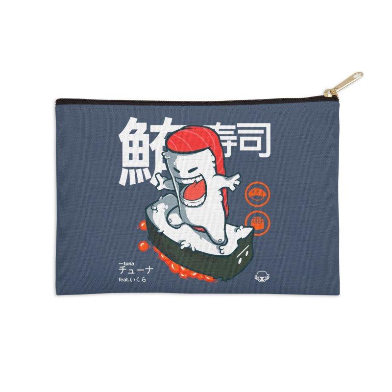 Tuna feat. Ikura Accessories Zip Pouch by mankeeboi's Artist Shop