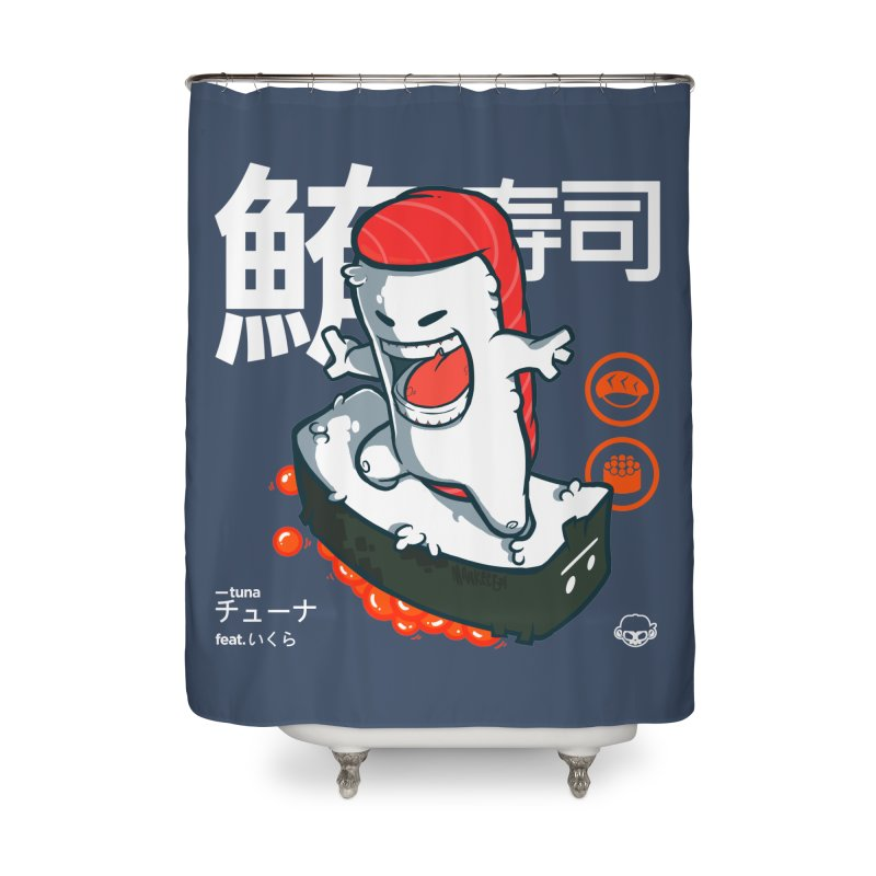Tuna feat. Ikura Home Shower Curtain by mankeeboi's Artist Shop