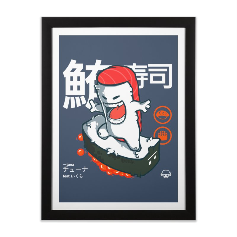 Tuna feat. Ikura Home Framed Fine Art Print by mankeeboi's Artist Shop