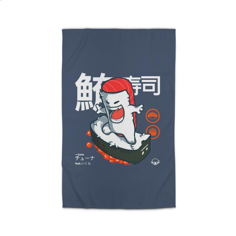 Tuna feat. Ikura Home Rug by mankeeboi's Artist Shop