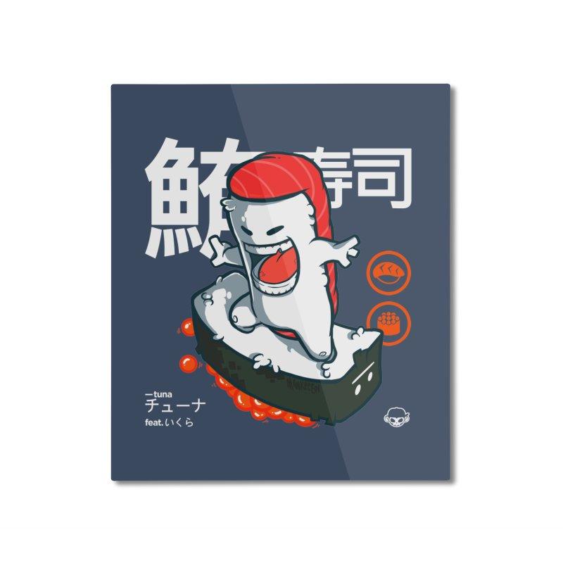 Tuna feat. Ikura Home Mounted Aluminum Print by mankeeboi's Artist Shop