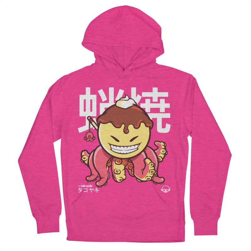 Takoyaki Women's French Terry Pullover Hoody by mankeeboi's Artist Shop