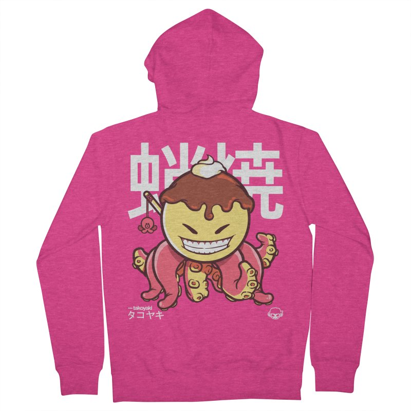Takoyaki Women's Zip-Up Hoody by mankeeboi's Artist Shop