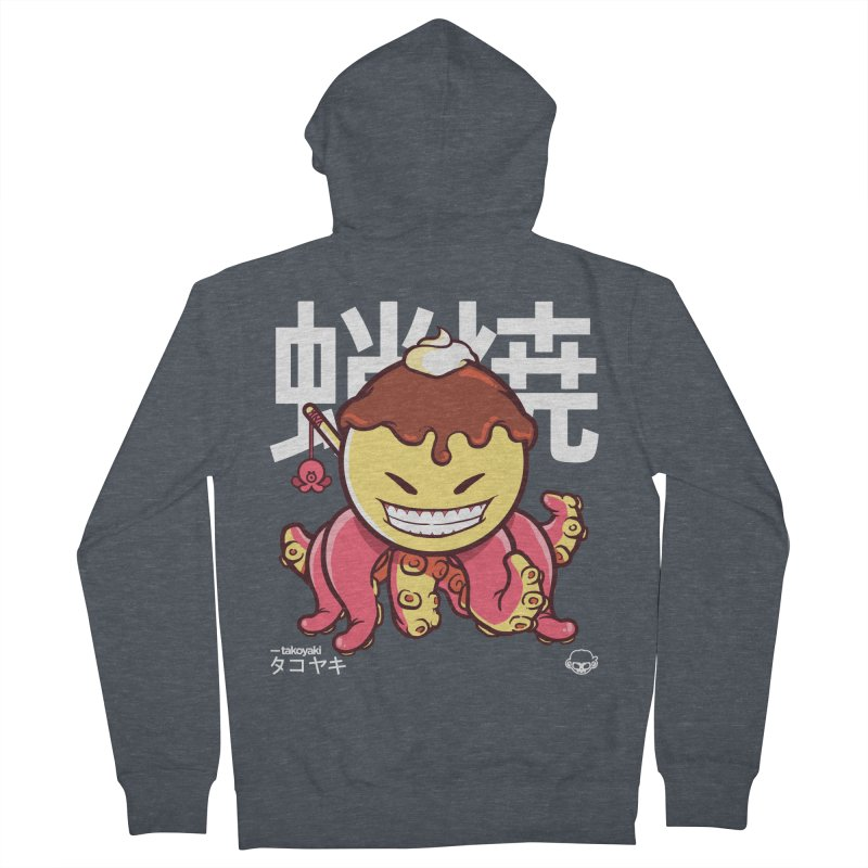 Takoyaki Men's Zip-Up Hoody by mankeeboi's Artist Shop
