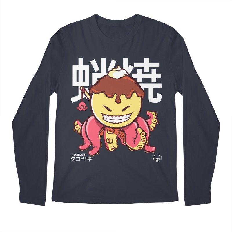 Takoyaki Men's Regular Longsleeve T-Shirt by mankeeboi's Artist Shop