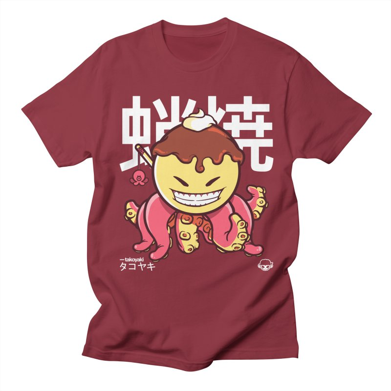 Takoyaki Women's Regular Unisex T-Shirt by mankeeboi's Artist Shop