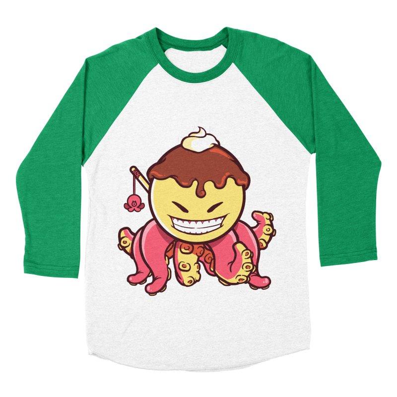 Takoyaki Women's Baseball Triblend T-Shirt by mankeeboi's Artist Shop