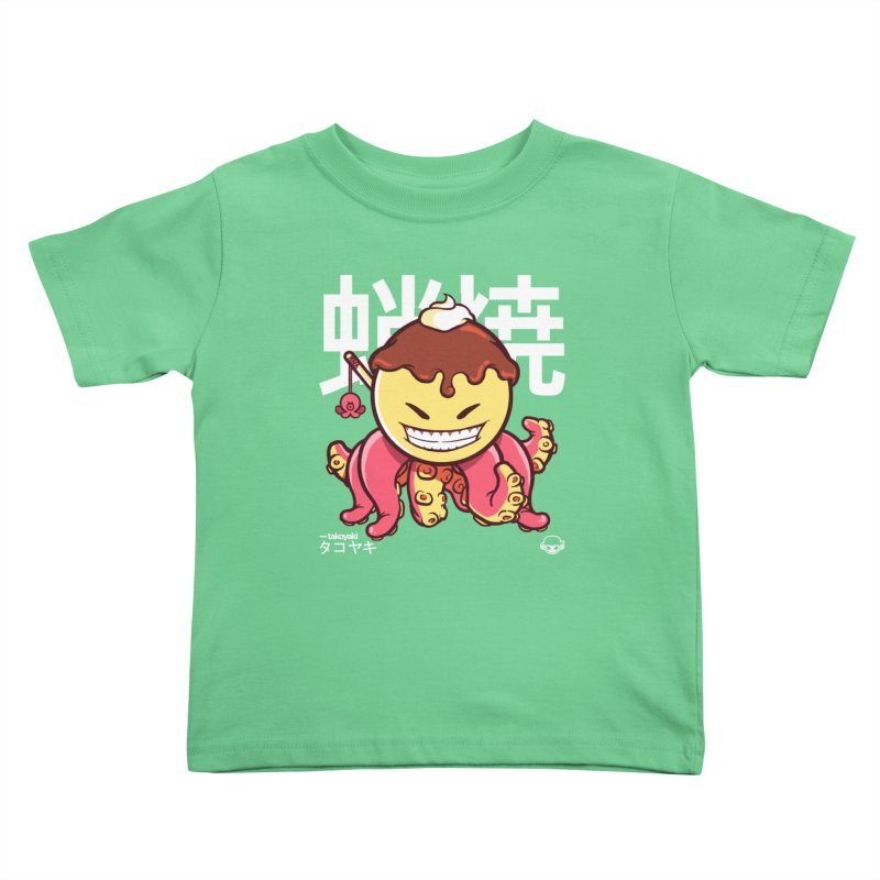 Takoyaki Kids Toddler T-Shirt by mankeeboi's Artist Shop