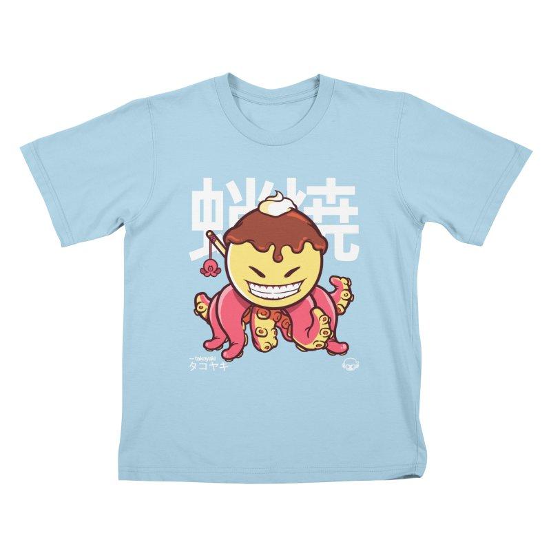 Takoyaki Kids T-Shirt by mankeeboi's Artist Shop