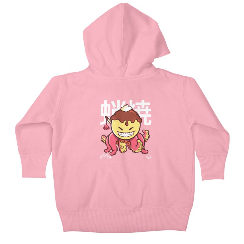 Takoyaki Kids Baby Zip-Up Hoody by mankeeboi's Artist Shop