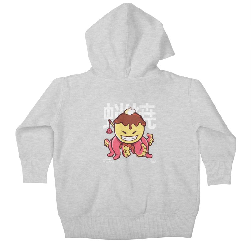 Takoyaki Kids Baby Zip-Up Hoody by mankeeboi's Artist Shop