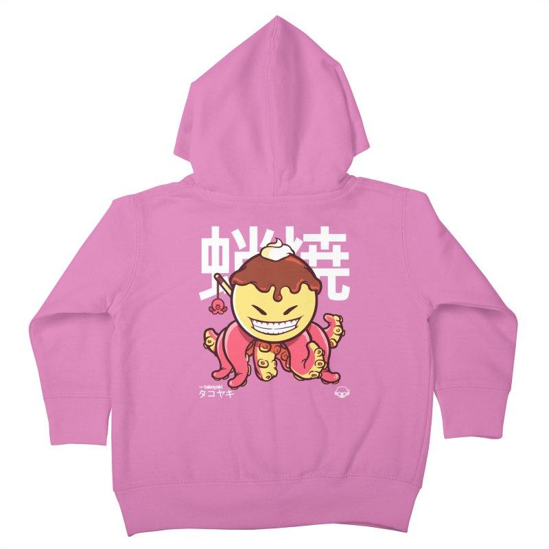 Takoyaki Kids Toddler Zip-Up Hoody by mankeeboi's Artist Shop