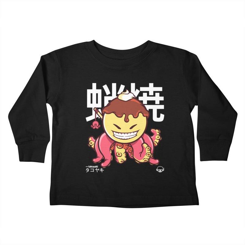 Takoyaki Kids Toddler Longsleeve T-Shirt by mankeeboi's Artist Shop