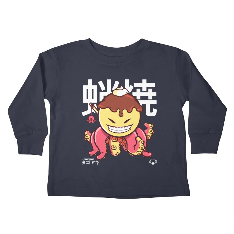 Takoyaki Kids Toddler Longsleeve T-Shirt by mankeeboi's Artist Shop