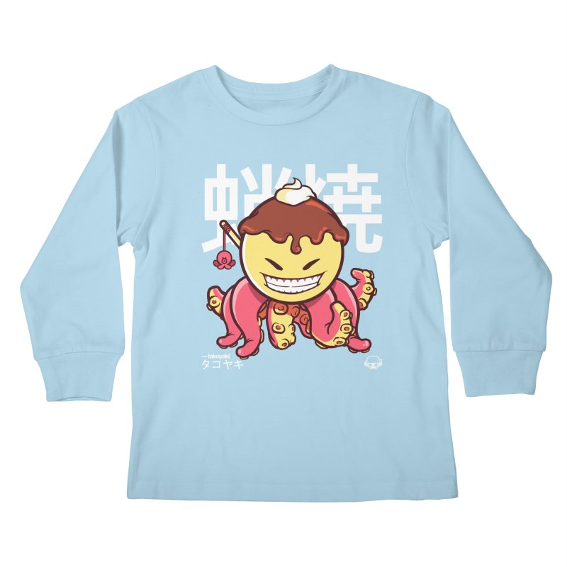 Takoyaki Kids Longsleeve T-Shirt by mankeeboi's Artist Shop