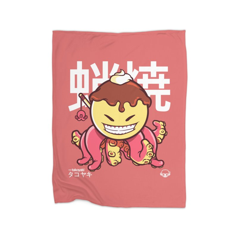 Takoyaki Home Blanket by mankeeboi's Artist Shop