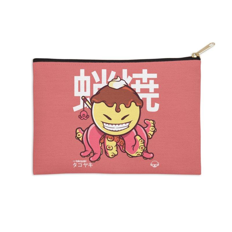 Takoyaki Accessories Zip Pouch by mankeeboi's Artist Shop