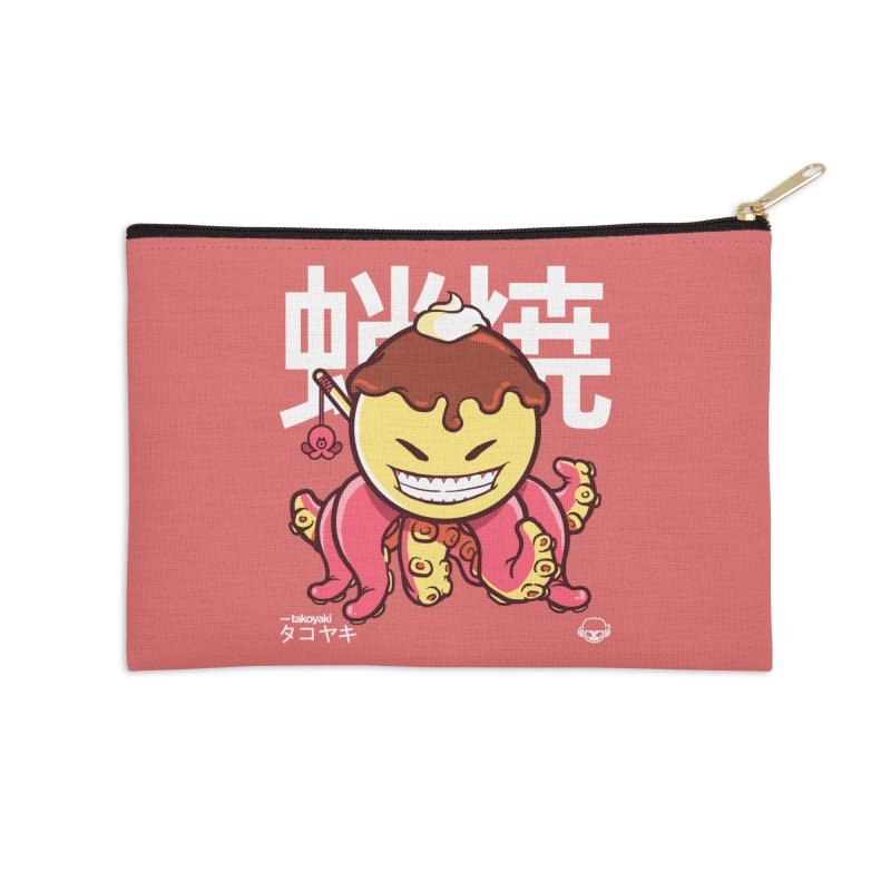 Takoyaki Accessories Zip Pouch by mankeeboi's Artist Shop