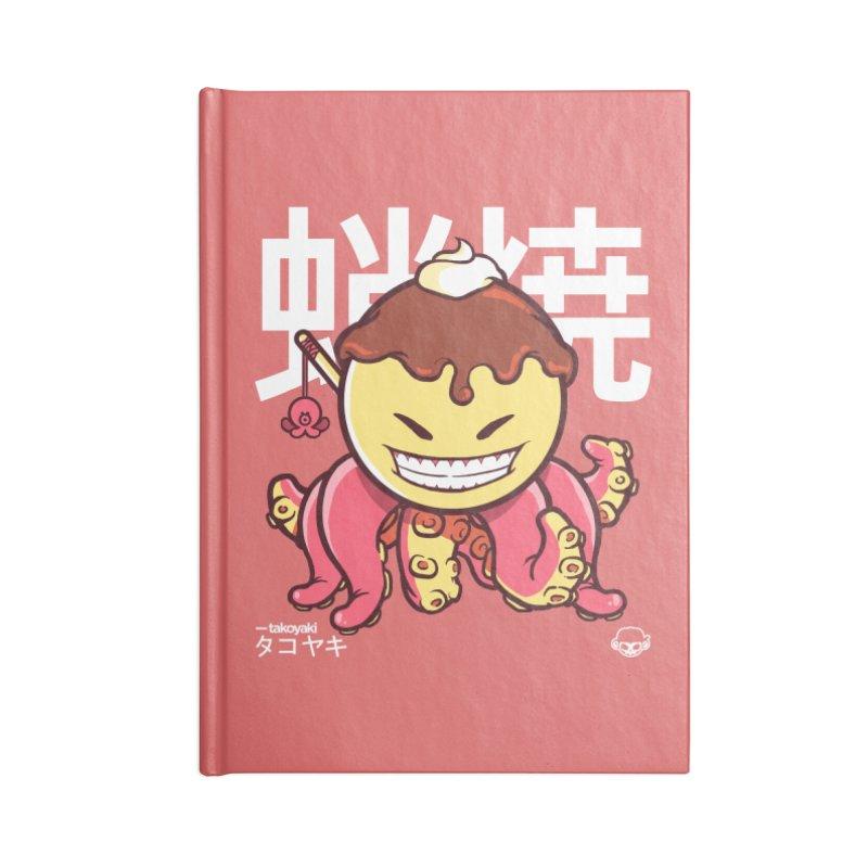 Takoyaki Accessories Notebook by mankeeboi's Artist Shop