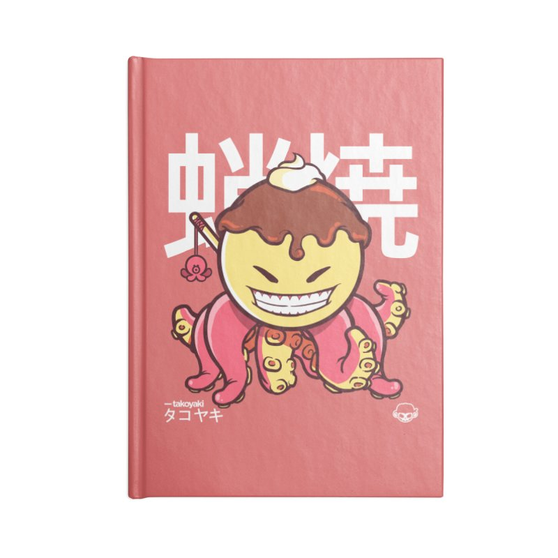 Takoyaki Accessories Notebook by mankeeboi's Artist Shop