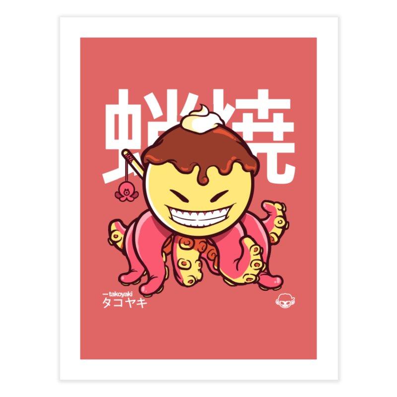 Takoyaki Home Fine Art Print by mankeeboi's Artist Shop
