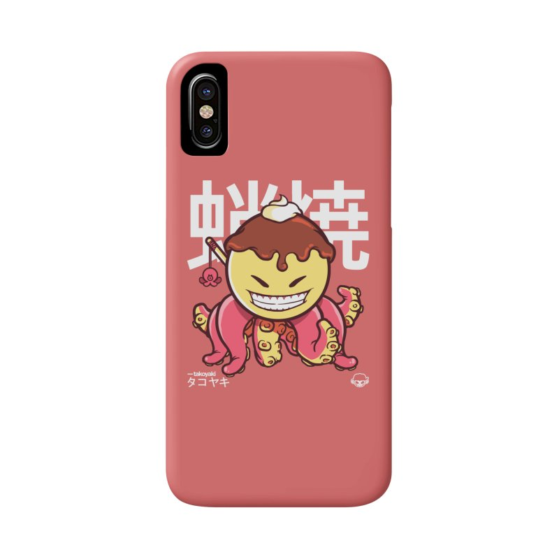Takoyaki Accessories Phone Case by mankeeboi's Artist Shop