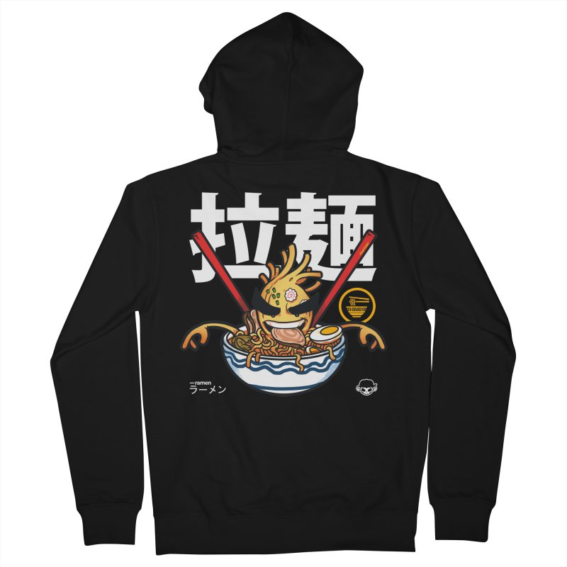 Ramen Men's Zip-Up Hoody by mankeeboi's Artist Shop