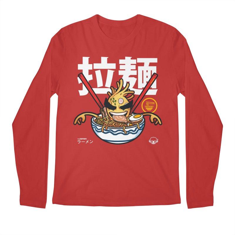 Ramen Men's Regular Longsleeve T-Shirt by mankeeboi's Artist Shop