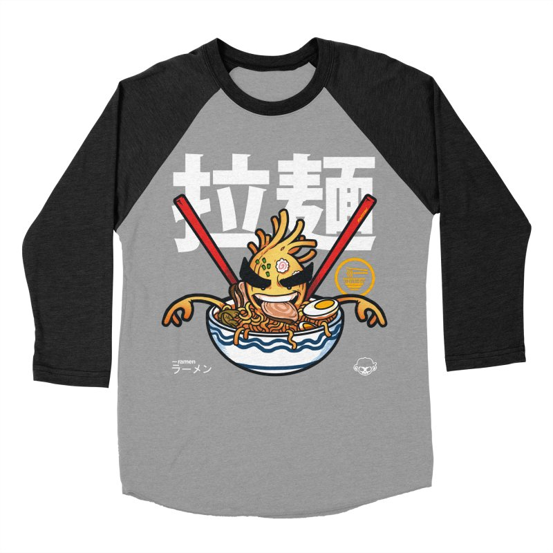 Ramen Women's Baseball Triblend T-Shirt by mankeeboi's Artist Shop