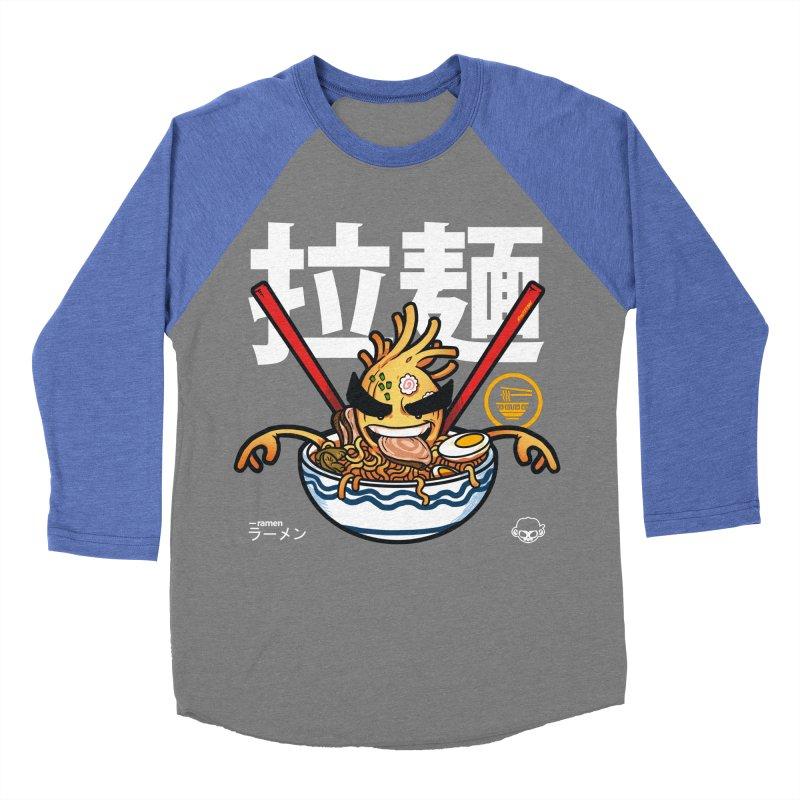Ramen Men's Baseball Triblend Longsleeve T-Shirt by mankeeboi's Artist Shop